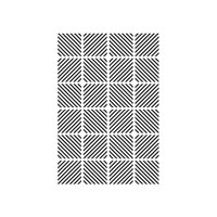 "Diagonal Block - Background Embossing Folder 4.25""X5.75"""