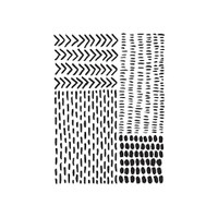 "Pattern Markings - Background Embossing Folder 4.25""X5.75"""