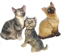 Day - Kalyana Designs created these cats and dog!  Check out her YouTube Channel!!