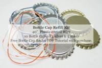 Poly Doodle Bottle Cap Kit - Flower Garden