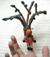 Poly Puppets - Announcement Board and Tree Prop