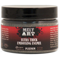 Melt Art Ultra Thick Embossing Powder UTEE Platinum