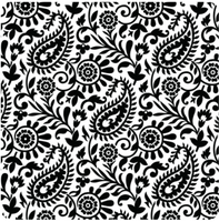 Deco Disc Paisley stamp and texture pattern designs