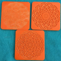 Deco Disc Marvelous Mandalas stamps and texture pattern designs