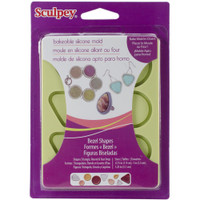 Sculpey Silicone Bakeable Molds - Bezel Shapes
