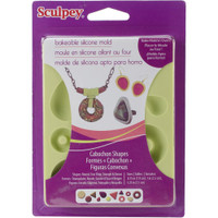 Sculpey Silicone Bakeable Molds - Cabochon Shapes