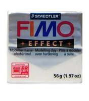 Fimo Effect Glitter White