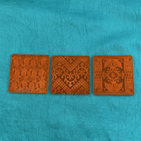 Deco Disc Serbian Garden stamps and texture pattern designs