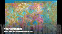 Ranger Pearl Alcohol Inks Polymer Clay Veneer Free Video
