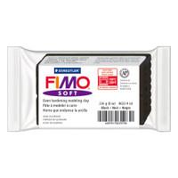 Fimo Soft Polymer Clay 8oz - Black