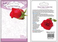 Rose Calyx Cutters Set