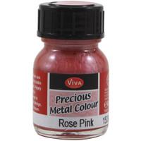 Precious Metal Colour Varnish - Rose Pink
