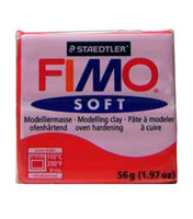 Fimo Soft Polymer Clay - Indian Red