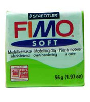 Fimo Soft Polymer Clay - Apple Green