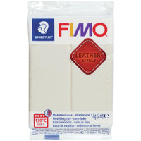 Fimo Leather Effect - Ivory
