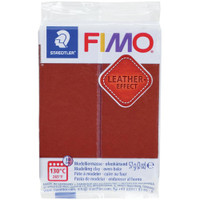 Fimo Leather Effect - Nut Brown