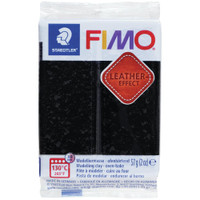 Fimo Leather Effect - Black