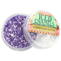 Ice Resin Glass Glitter - Amethyst