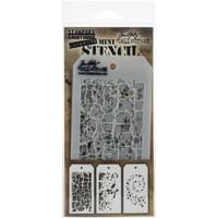 Tim Holtz Mini Layered Stencil Sets 3/pkg Set 43