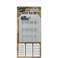 Tim Holtz Mini Layered Stencil Sets 3/pkg Set 45