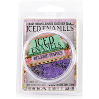 Iced Enamels Relique Powder Cold Enameling Amethyst