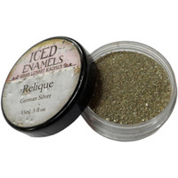Iced Enamels Relique Powder Cold Enameling German Silver