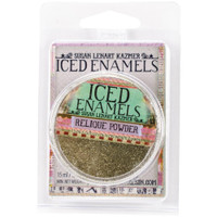Iced Enamels Relique Powder Cold Enameling Glitz Gold