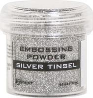 Ranger Silver Tinsel Embossing Powder