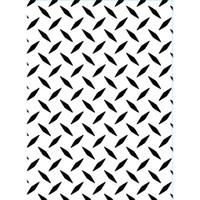 "Diamond Plate - Background Embossing Folder 4.25""X5.75"""