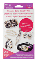Sculpey Mokume Gane Jewelry Kit