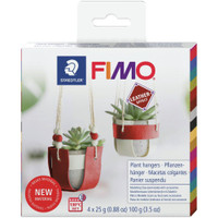 Fimo Leather Effect Kit - Plant Hangers