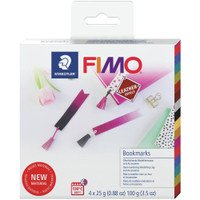 Fimo Leather Effect Kit - Bookmarks