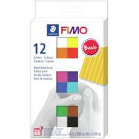 Fimo Basic Multi Pack Kit of 12 Colors