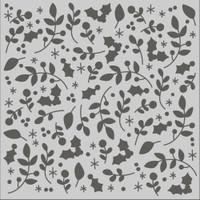Mistletoe & Holly 6 x 6