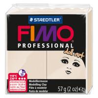Fimo Professional Doll Art Polymer Clay - Translucent Beige 2oz