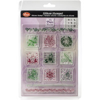 Christmas Patchwork Viva Decor Clear Stamp Set