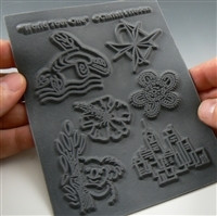 Slightly Blemished Christi Friesen Texture Stamp World Tour One