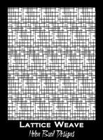 Helen Breil Silk Screens - Lattice Weave