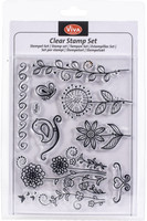 Bird & Butterfly Clear Stamp Set