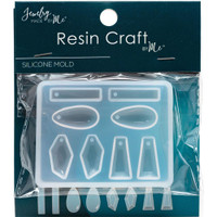 Earrings Silicone Resin Mold