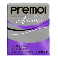 Premo! Sculpey® Accents - White Gold Glitter