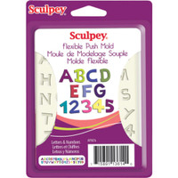 Sculpey Mold - Letters and Numbers