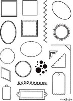 Rubber Stamps - Frames