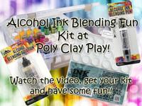 Alcohol Ink Blending Fun