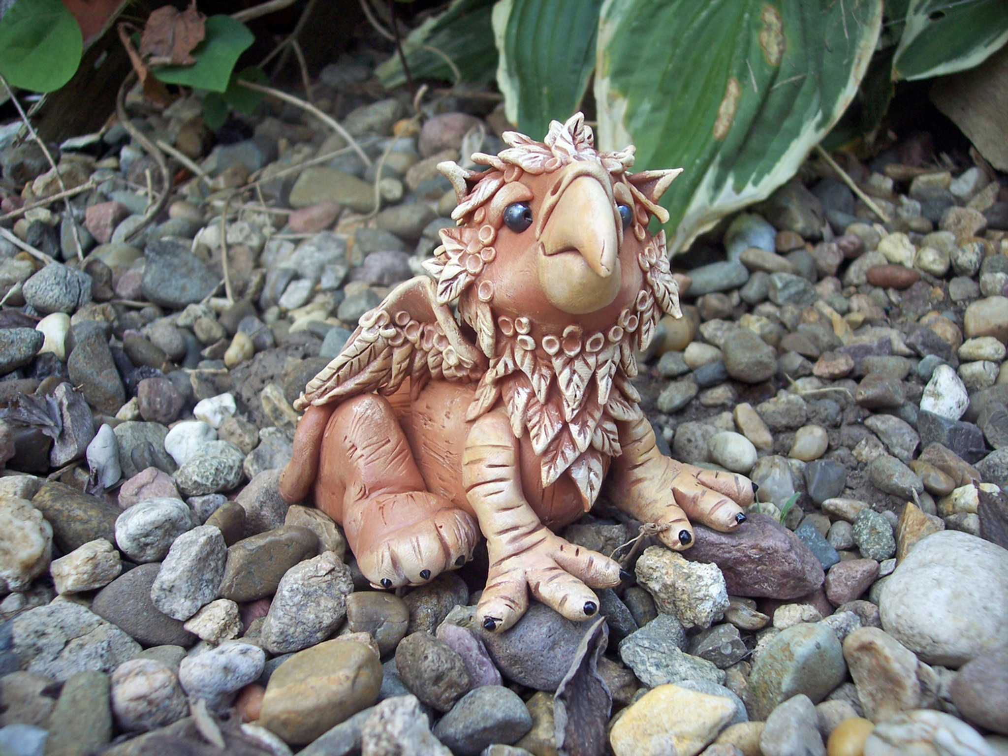 44178a59 Stormy the Baby Griffin - Free Tutorial - Poly Clay Play