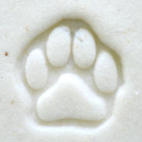 Dog Paw Print Outline Stamp