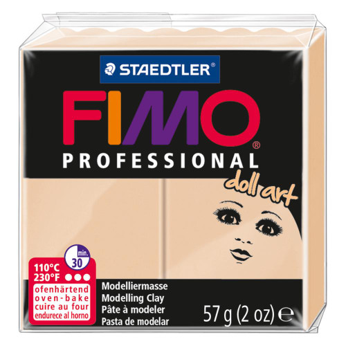 Fimo Professional Doll Art Polymer Clay - Opaque Sand 2oz