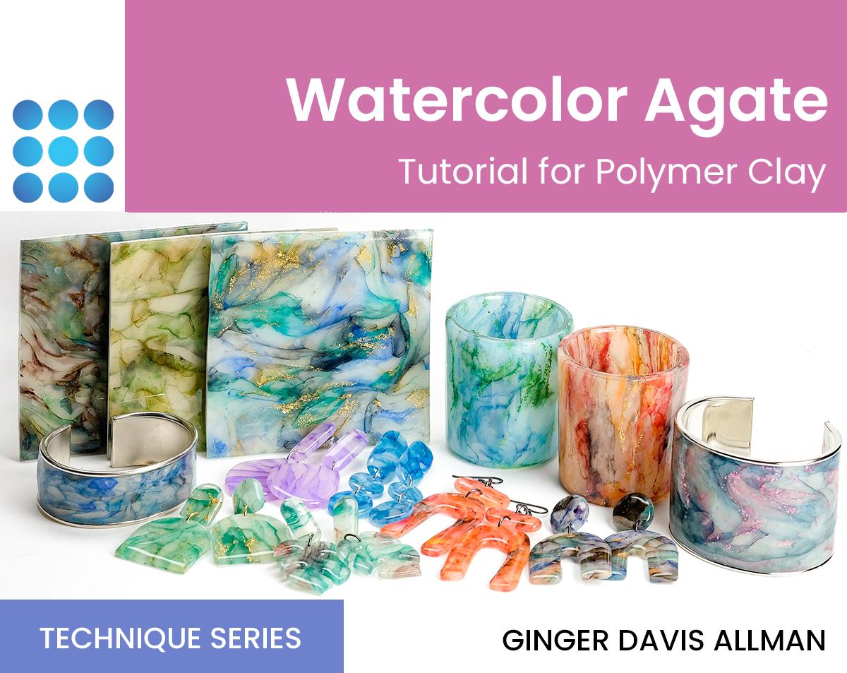 Watercolor Agate