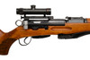 W+F Bern Swiss ZFK 55 Sniper Rifle w/ Bayonet - sn 23xx
