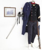 Antique Swiss Army Machinegunner Set